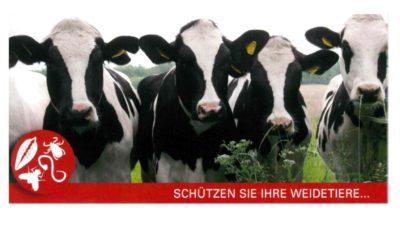 Entwurmung Rinder, Kühe, Schafe, Ziegen 2016