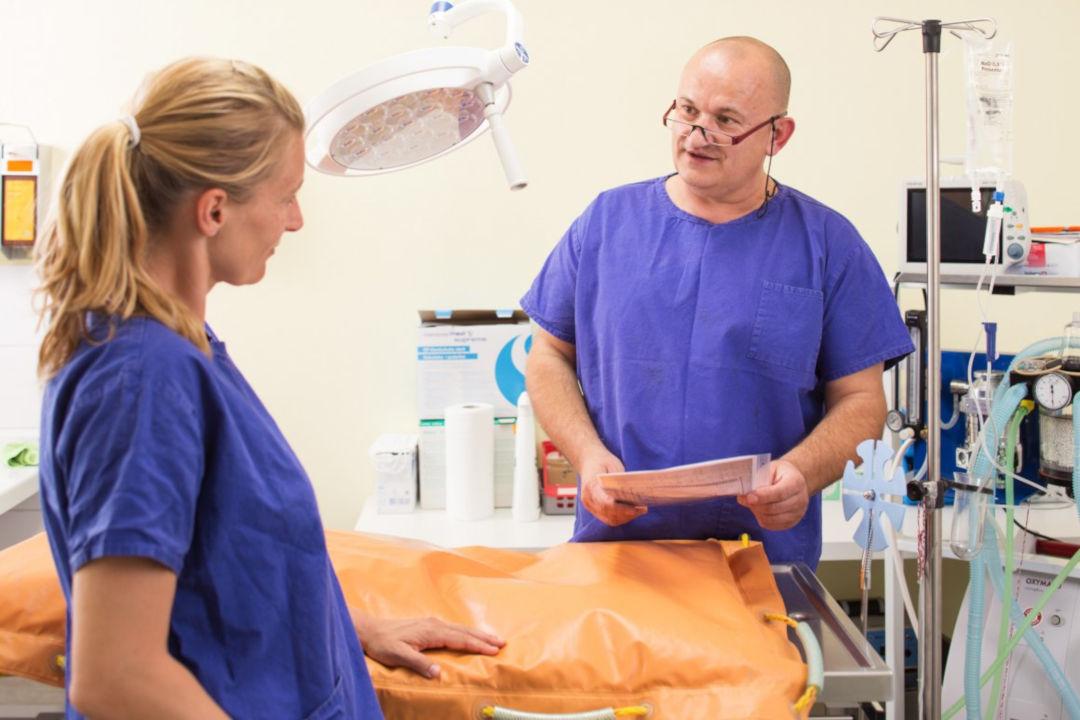 Operationsraum - Räumlichkeiten bei der Tierarztpraxis Linth AG in Tuggen