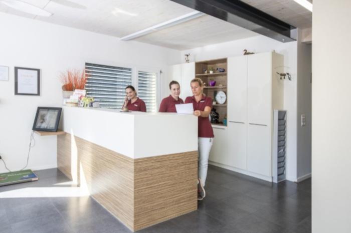 Räumlichkeiten der Tierarztpraxis Linth AG in Tuggen