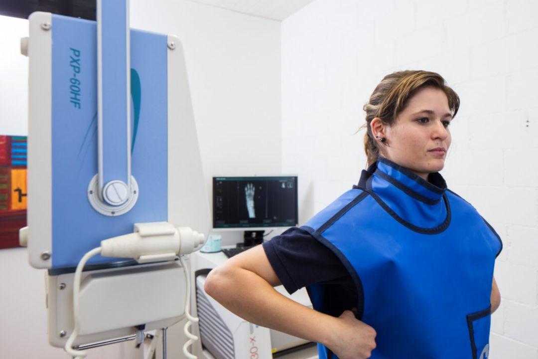 Röntgen - Räumlichkeiten in der Tierarztpraxis Linth AG in Tuggen